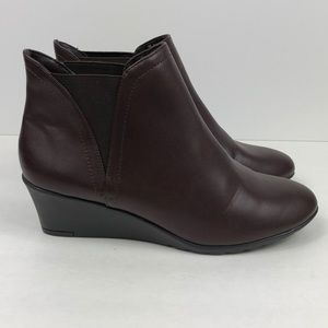 Hush Puppies Shoes Size 8M Ankle Boots Brown